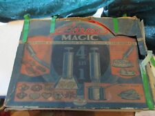 VINTAGE ATECO MAGIC COOKIE MAKER MODELER NOODLE CAKE DECORATOR EARLY 50s? 685box