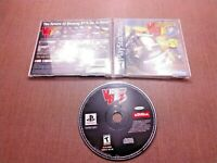 Sony PlayStation 1 PS1 PSOne CIB Complete Tested Vigilante 8 2nd Offense Ships F