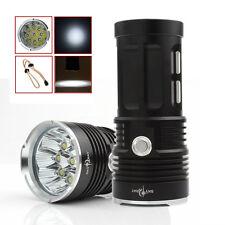 Hot 22000LM SKYRAY 9 x CREE XM-L T6 LED 3-Mode Lamp 4 x 18650 Flashlight Torch