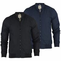 Brave Soul MA1 Mens Harrington Jacket Summer Lightweight Bomber Coat