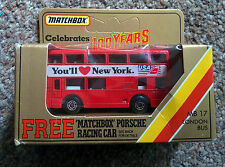 Matchbox London Bus MB17 in special Celebrating 100 years box (approx 1984)