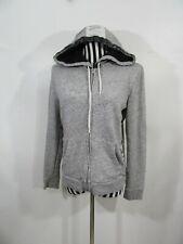 Victorias Secret PINK Hoodie Sequins Grey Sweatshirt Size M