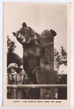 """""""Kitty The Russian Bear Asks for Buns"""" - Bear / Teddy bear theme, posted Burton"""