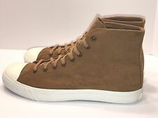New Men's Pro Keds Hi-Top Camo Print Suede Sneakers/Tan USA Size 13