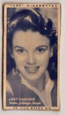1947 Movie Card of JUDY GARLAND Wizard of Oz Meet Me in St. Louis A Star is Born
