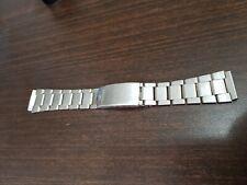 orologio ENICAR sherpa CINTURINO acciaio vintage originale uomo cronografo