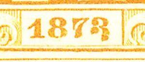 ÖSTERREICH - TELEGRAFENMARKEN 1874, Kaiser Franz Joseph Telegrafenmarke 1 Fl.
