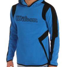 Wilson Mens Knit Hoody Blue/Black XLarge