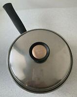 Regal Ware Duncan Hines Saucepan Pot & Lid 3 Ply 18-8 Stainless Steel 2.5 Qt