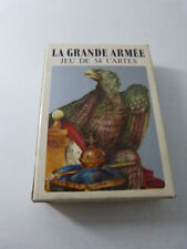 jeu de cartes LA GRANDE ARMEE,  NAPOLEON , grimaud  (cpnb1)