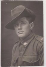 WW1 real photo & postcards of ANZAC soldier 3817 Berry Heidenreich 76th infantry