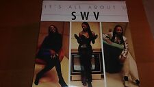 "SWV-ITS ALL ABOUT U-12""SINGLE-RCA-RDAB 64672 1-PROMO-NM"