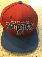 NFL New England Patriots Mitchell and Ness Vintage Snapback Hat & Throwback Cap