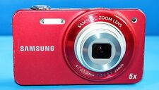 SAMSUNG ST SERIES ST90 14.2MP DIGITAL CAMERA - RED - FAULTY - 1684