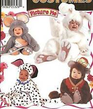 S 9821 OOP Toddler Mouse Bunny Puppy Monkey Pattern ½-4
