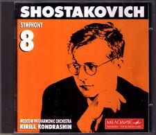 Kirill KONDRASHIN: SHOSTAKOVICH Symphony No.8 CD Sintonie Schostakowitsch Moscow