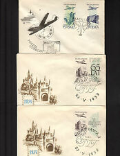 Poland Air Post Covers SC 45, 46, 47, 2 Event Covers & 1 FDC First Day*