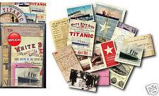 Titanic Memorabilia Gift Pack with over 20 pieces of Replica Artwork