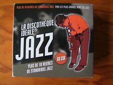 Coffret 10 cd La Discotheque Ideale du JAZZ de 2007 MILES DAVIS JOHN COLTRANE ..