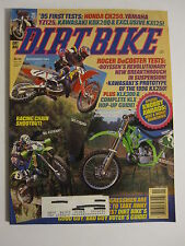 November 1994 DIRT BIKE Magazine motocross moto x racer action mx