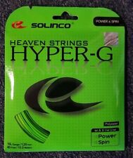 Solinco Hyper G Hyper-G 16L Gauge 1.25mm Tennis String NEW