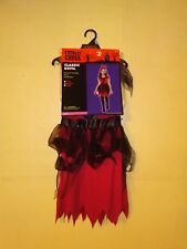 Halloween Costume Classic Devil Girls Size Medium M Dress and Headpiece
