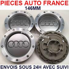 4x 146mm AUDI jantes cache moyeux capuchon A4 A6 A8 B5 C5 Q7  8D0601165K - NEUF