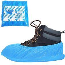 In plastica usa e getta soprascarpe x100 Pavimento/Tappeto Scarpa Protettori valigetta medica di copertura