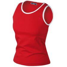James&N. Sport Marken BEACH TOP Shirt NEU Elastic in ROT in M