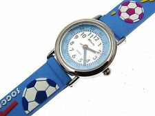 Blue Football Kids Watches For Children Boys Watches