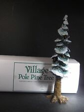 Dept 56  VILLAGE POLE PINE TREE  Cold Cast Porcelain 10 1/2""