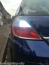 Vauxhall ASTRA H LED Reverse Lampadine Errore Canbus libero Xenon Bianco 18W SMD
