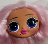 LOL SURPRISE DOLL OMG HEAD ONLY FOR REPLACEMENT OR OOAK WAVE 2 UPTOWN BB BABY