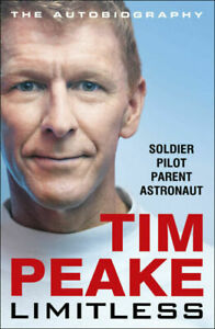 Limitless The Autobiography by Tim Peake (2020, Hardcover)