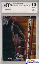 1997/98 Topps Finest Bronze #271 Michael Jordan BECKETT 10 MINT Bulls HOF GOAT