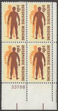 Scott # 1469 - Us Plate Block Of 4 - Osteopathic Medicine - Mnh - 1972