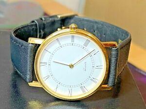 Men's Women's Unisex Quartz Wristwatch Unbranded New Leather Strap