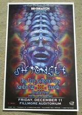 Shpongle Alex & Allyson Grey Fillmore - Denver 11x17 Concert Flyer / Gig Poster