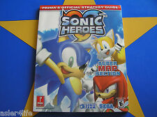 SONIC HEROES - STRATEGY GUIDE