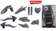 KTM Plastic kit SX / SXF 2016-18  NARDO GREY POLISPORT + ENJOY SEAT COVER