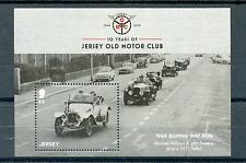 Jersey 2016 MNH Jersey Old Motor Club 1v M/S Cars Boxing Day Run Stamps