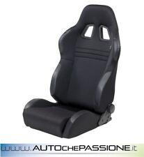 Sedile Sportivo Type T Eco reclinabile  Colore Nero
