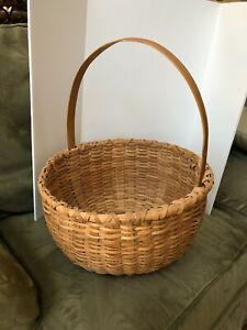 Large Woven Gathering Basket
