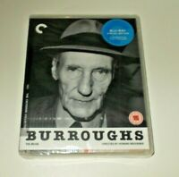 Burroughs blu ray New & sealed Criterion Collection Region B William Burroughs