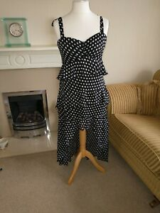 Ladies stunning Brand New Abbey Clancy And Lipsy Dress Size 14