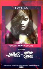 TOVE LO Queen Of The Clouds Ltd Ed RARE New Poster +FREE Indie Poster! Lady Wood