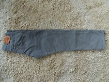 LEVIS 751 Grey Cords Size: W 32 L 34
