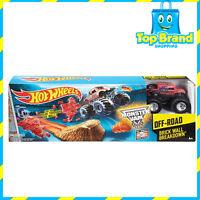 Hot Wheels Monster Jam Off-Road - Brick Wall Breakdown Set Boys Toys