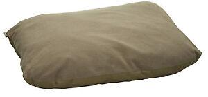 Trakker NEW Carp Fishing Large Green Fleece Pillow - 209402