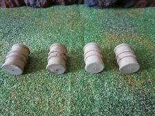 Lionel 6462 Unstained Wooden Barrels (4)